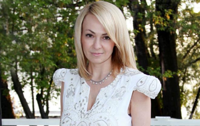 Телеведущая и продюсер Яна Рудковская