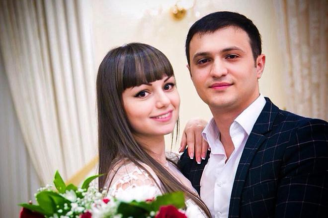 Артур Саркисян с женой