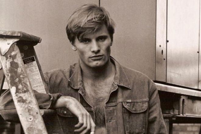 Вигго Мортенсен в молодости