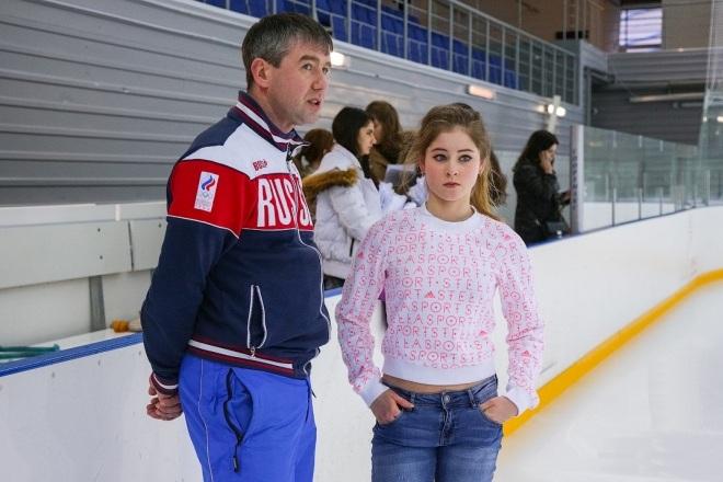 Алексей Урманов и Юлия Липницкая