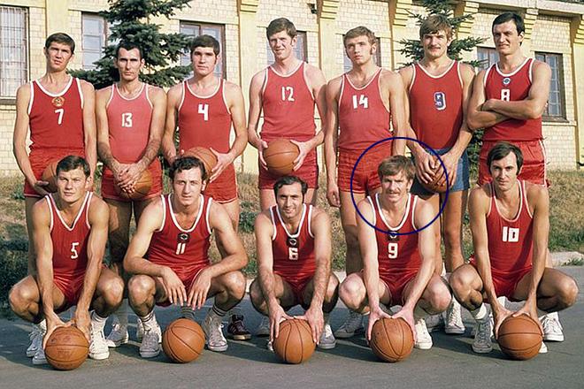 Иван Едешко в сборной СССР