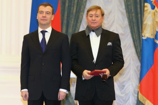 Дмитрий Медведев и Роман Виктюк