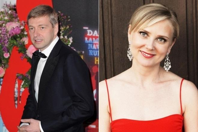 Дмитрий и Елена Рыболовлевы