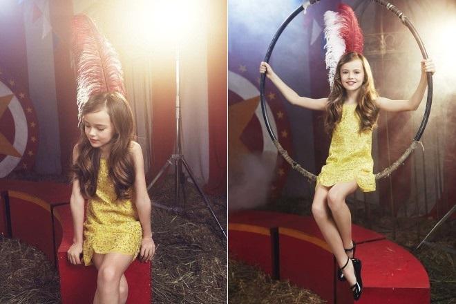 Фотосессия Кристины Пименовой для журнала «ELLE kids»