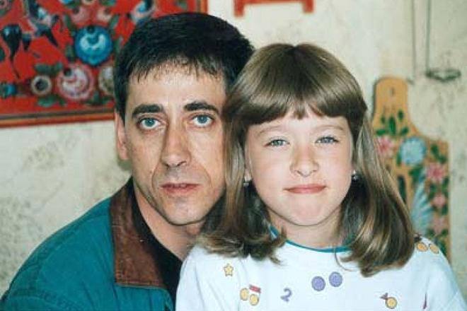 Евгений Дворжецкий с дочерью Анной