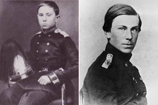 Николай Римский-Корсаков в детстве и юности