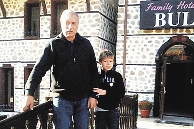 Бойко Гюров с сыном Стояном