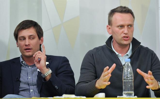 Дмитрий Гудков и Алексей Навальный