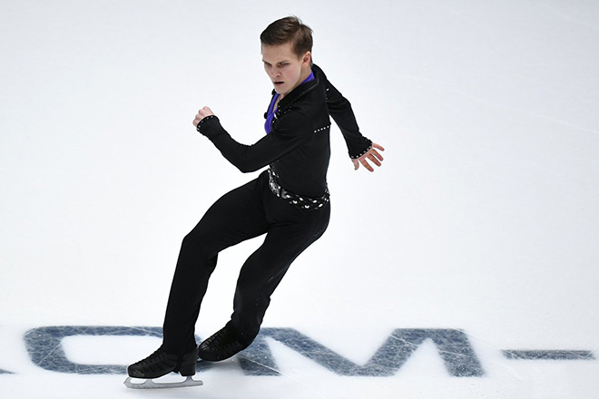 Михаил Коляда на льду