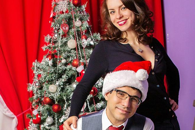 Анастасия Шутова и ее муж Ким Галачян