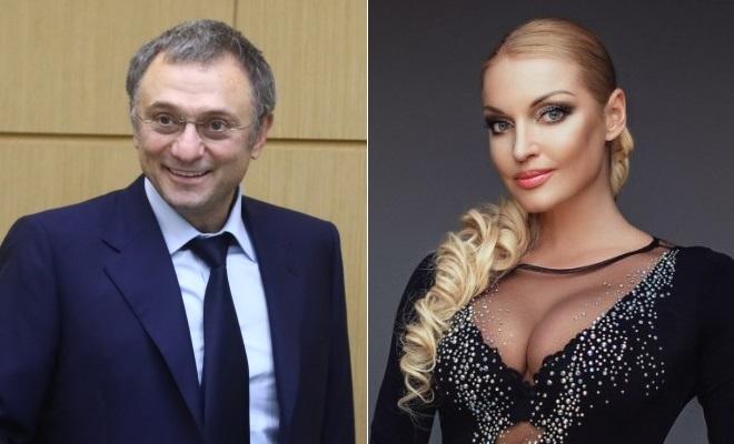 Сулейман Керимов и Анастасия Волочкова