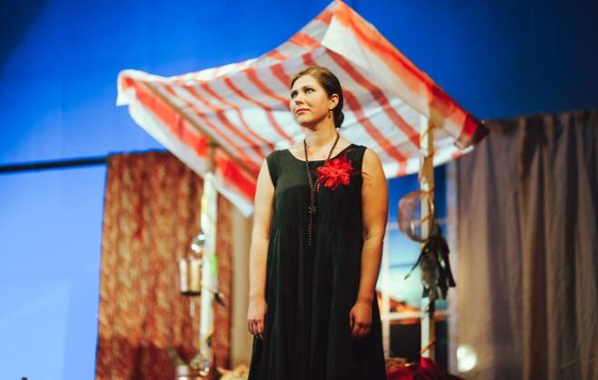 Екатерина Порубель в театре