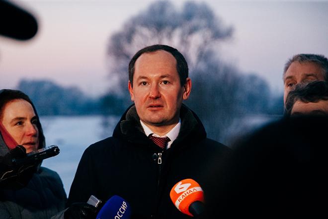 Павел Ливинский с рабочим визитом во Владимирской области