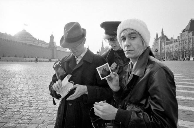 Дэвид Боуи и Игги Поп в Москве