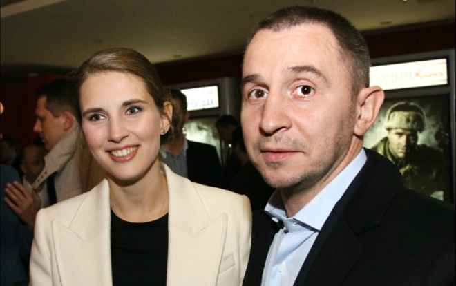 Петр Буслов с женой