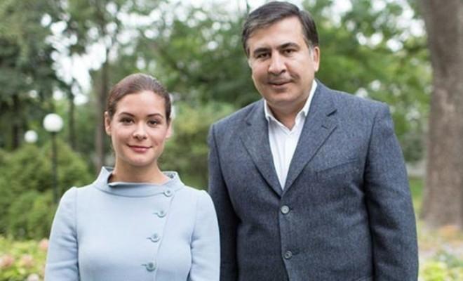 Мария Гайдар и Михаил Саакашвили