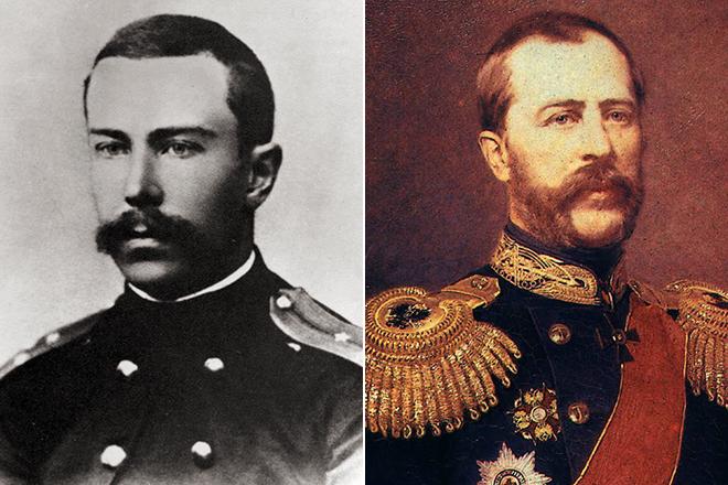 Николай Римский-Корсаков и его брат Воин Римский-Корсаков
