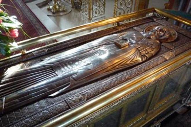 Саркофаг Даниила Московского