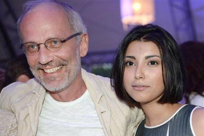 Александр Гордон с женой Нозанин