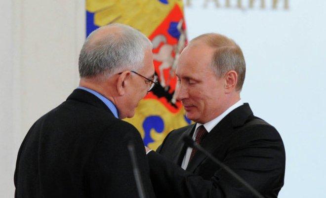 Карен Шахназаров и Владимир Путин
