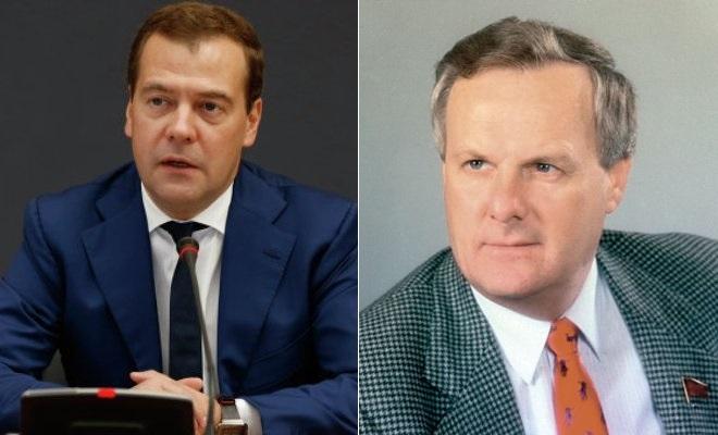Дмитрий Медведев и Анатолий Собчак