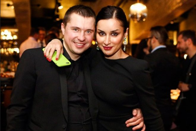 Василий Бровко и Тина Канделаки