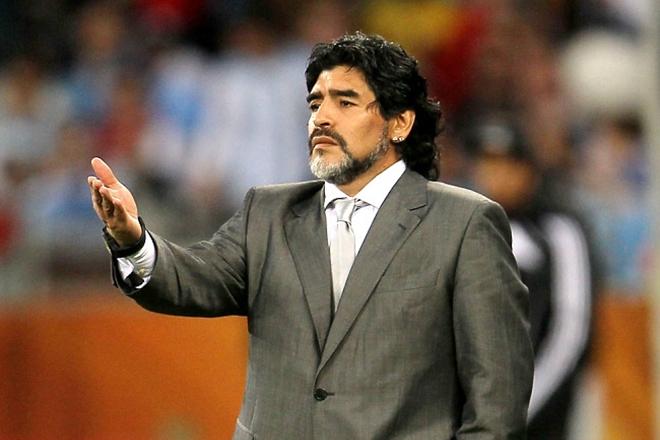 Диего Марадона в качестве тренера
