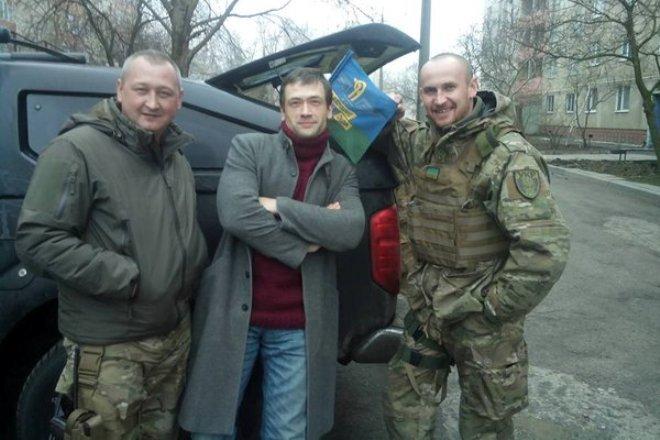 Анатолий Пашинин в зоне АТО