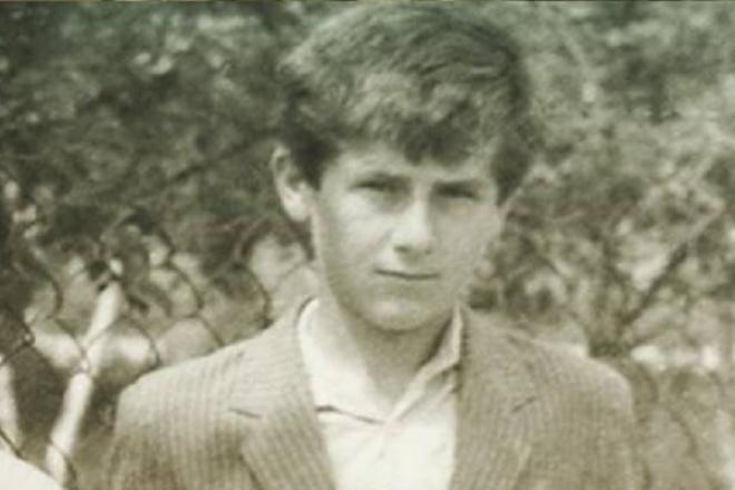 Рамзан Кадыров в детстве
