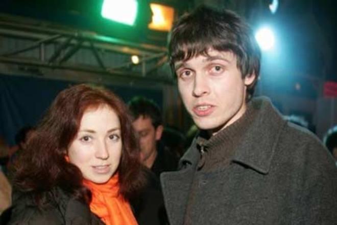 Анна Большова с первым мужем