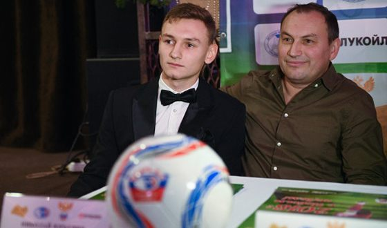 Федор Чалов с отцом