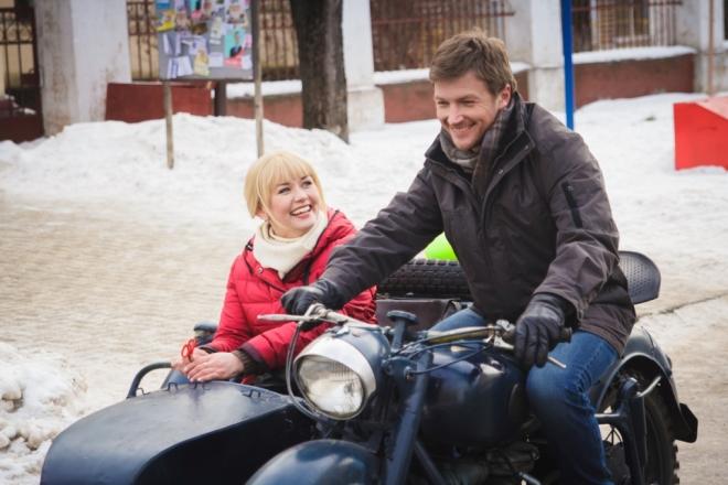 Марина Денисова и Сергей Мухин в фильме «Огонь, вода и ржавые трубы»
