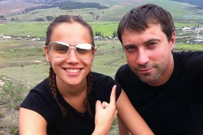 Прохор Дубравин и Евгения Серебренникова