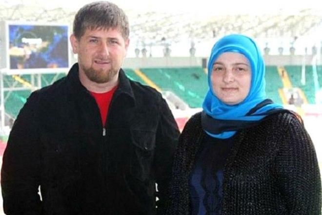 Рамзан Кадыров с женой