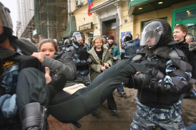Задержание Марии Гайдар