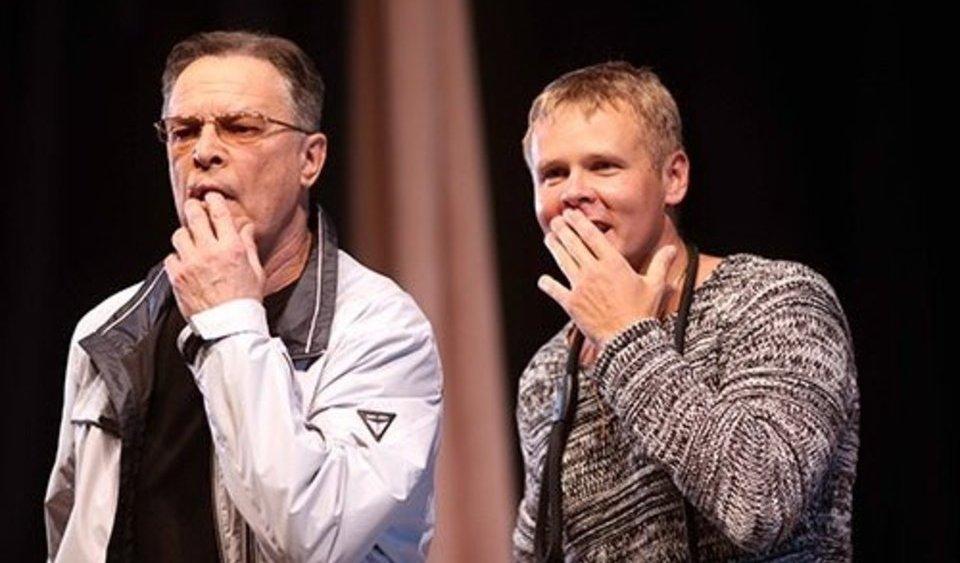 Илья Соколовский в спектакле