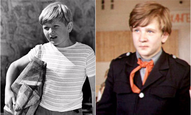 Роман Мадянов в детстве
