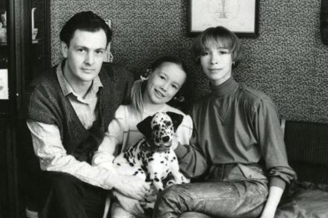 Дарья Мороз с родителями
