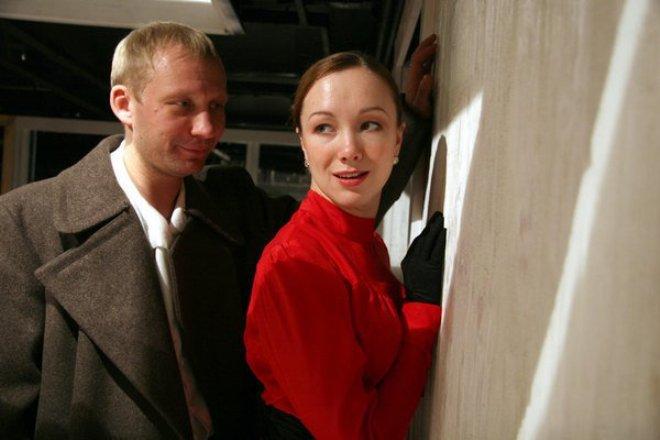 Дарья Мороз в спектакле
