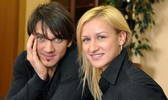 Татьяна Волосожар с Максимом Траньковым