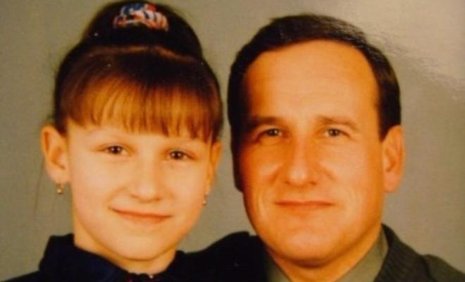 Татьяна Волосожар с отцом