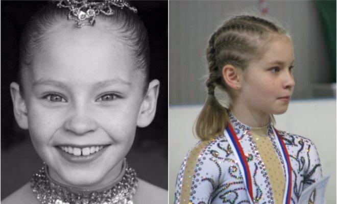 Юлия Липницкая в детстве