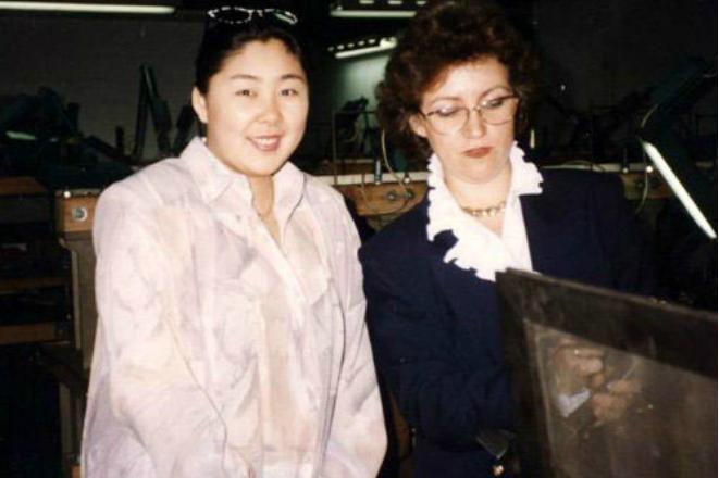 Анита Цой в молодости была пышкой