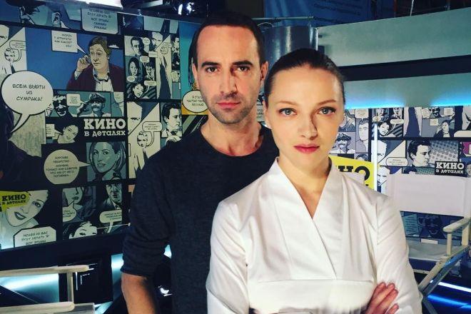 Илья Любимов с женой