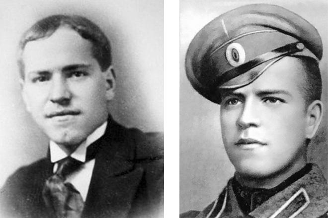 Георгий Жуков в молодости