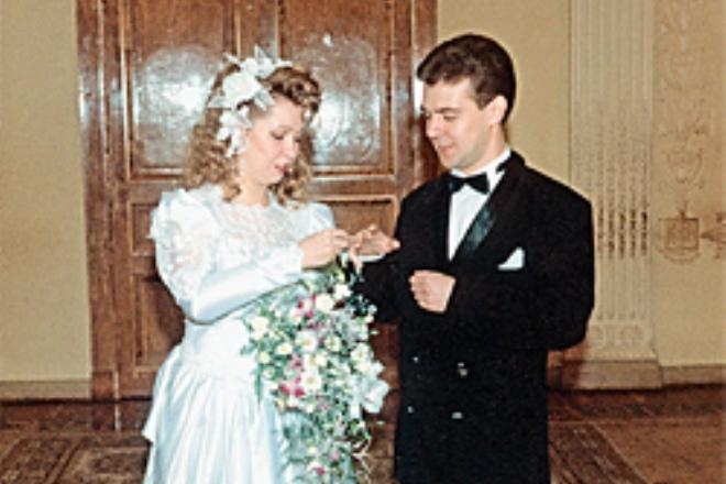 Свадьба Дмитрия Медведева и Светланы Линник