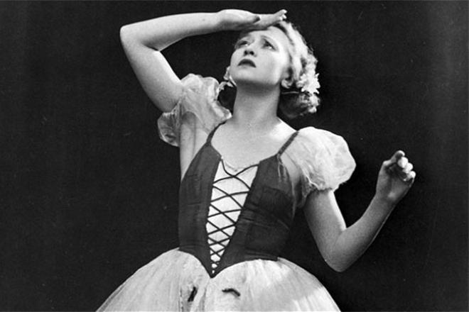 Галина Уланова в балете