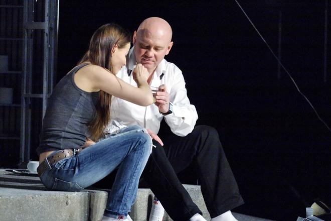 Виталий Хаев в спектакле
