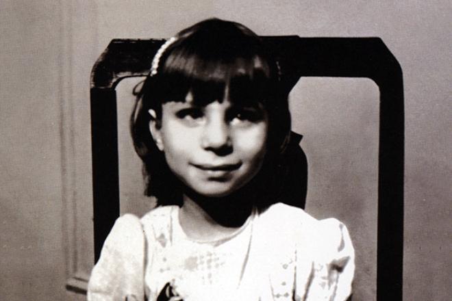 Барбра Стрейзанд в детстве