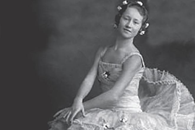 Галина Уланова в хореографическом училище